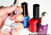 Nail Swatches on Sahrish Adeel's Blog