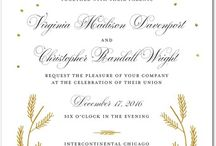 WEDDING INVITATION IDEAS / Invitation ideas for every bride.  / by UMC Events Planning & Catering