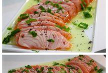 Frutos do mar e peixes