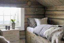 Hems hytte seng