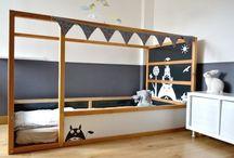 Ikea Kura Bed / by AJ Uhr
