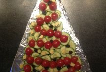 Kerstbuffet school