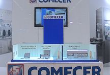Comecer Group / Act Events Allestimenti fieristici Exhibition stand display Our work for Comecer Group - Isolation technology and Nuclear medicine