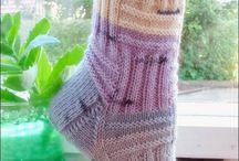 Socken gestrickt