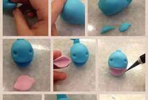 foam clay orca