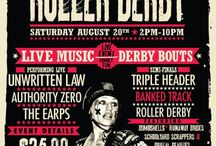 Design Love - Roller Derby Edition / by Danielle Mulhall