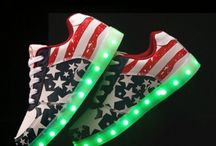 Cheap Led Unisex sneakers