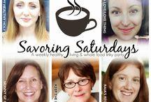 Savoring Saturdays Linky Party / by Skinny GF Chef
