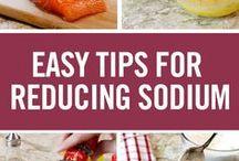 Lower sodium recipes