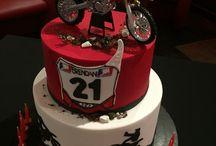 Cumpleaño de motocross