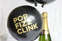 New Years Eve Party Ideas / New Year's Eve Party Ideas - Get ideas for your New Year's Eve party! New Year's Eve party decorations, New Year's Eve party printables, New Year's Eve cocktail recipes, New Year's Eve party recipes / by For Chic Sake