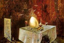 Gólems, autómatas y otros artefactos / Los primeros autómatas de la historia, el mito del Golem, el monstruo de Frankenstein, criaturas mecánicas, híbridos, mutantes y un viaje al interior de los cuerpos.