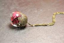 Klapperglas jewellery / Viele kleine Dinge aus meiner Glaswerkstatt im Bauwagen...