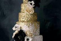 Torte Di Matrimonio Dorati