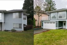 Before and After Reno Transformations / Here are some of my favorite before and after photos of home renos that we've worked on.