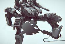 Concept Art     Vehicles / Concept Art - Vehicles and Mechs
