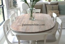 Paint dining furniture