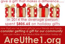 Holiday donations / Give a gift to the community with a tax deductible gift