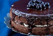 Torty ciasta czekoladowe