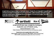 Vernissage at the Pecci Museum, Prato, Italy / Artisti a Km0 2010-2014 -analisi di un progetto Sabato 25 Ottobre