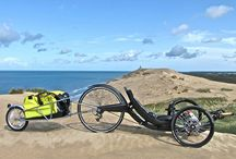 Recumbent bikes and trikes / This board was made for collecting information about recumbent bikes, liegerads and trikes.