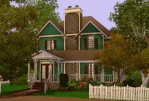 House inspiration for the sims 4