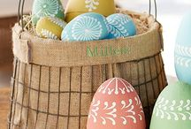 Easter/Pâques / Easter recipes, figurine, decorating easter eggs