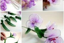 Nylon kvety