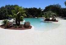 piscina tipo playa