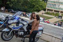 """Kutatók éjszakája / """"Igazi kihívás egy rendőrmotorral száguldani"""""""