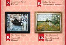 Top 10 Most Romantic Oil Paintings for Valentine's Day 2015