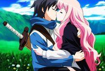 Louise y Saito