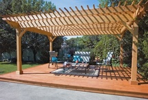 Picture Perfect Patios By Four Seasons / Aside from being glass people, Four Seasons can create new architectural elements to a garden by adding an inviting gateway, a cover for your patio or deck, or an attractive structure upon which beautiful flowering vines can be trained to grow.  Four Seasons will create a space that will be the new focal point to a landscape.