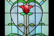 Stained glass window effects