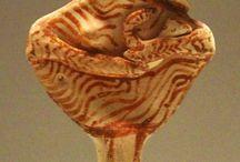 Kourotrophos figurines