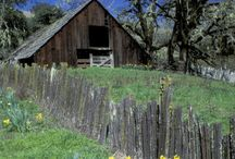 Barns we love / old ,rustic,chipped wood,perfect paint job ,falling down barns we love