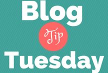 Blog Tip Tuesday / Weekly, bite-sized tips on blogging, list building and keep-in-touch marketing strategies.