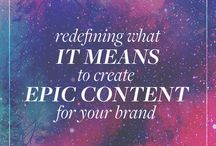 C O N T E N T - B I Z / Learn how to craft specific content for your audience, maximise it's impact and attract more clients!
