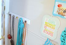 Girls' rooms / by Jamie Stovall