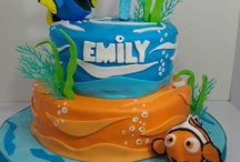 Dory/Nemo Birthday Cake Ideas