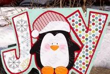 Cards...Christmas...Penguins & Polar Bears