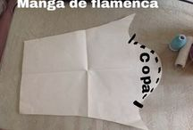 mangas de flamenca