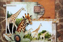 Safari scrapbooking