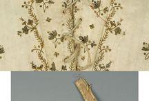 1780's - 1790's half boned stays