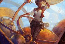 Cosplay & Steampunk / Cosplay & Steampunk Inspiration, DIY Tutorials, & Costume Piece Sourcing / by Arwen Morton
