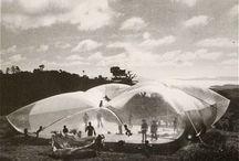 inflatable architecture/transparent constructions