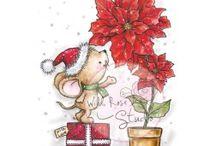 Tekening ideeen kerst