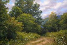 Favorite landscape paintings