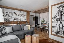Granitica / Apartament przeznaczony jest dla 4 osób (2 łóżka w sypialni oraz 2- osobowa sofa w salonie).Dostępna jest bezprzewodowa sieć Wi-Fi oraz sejf. W budynku znajduje się winda oraz garaż podziemny (do dyspozycji miejsce parkingowe nr 17), w garażu zamykana szafa na sprzęt narciarski, osobna dla każdego lokalu.