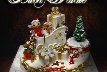Новогодний торт / Новый год